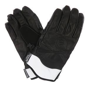 Перчатки сноубордические  Source Black Picture Organic. Цвет: черный