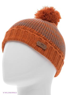 Шапка Trespass. Цвет: оранжевый