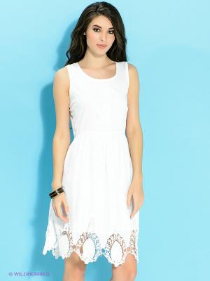 Платье Ada Gatti. Цвет: белый