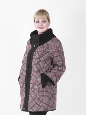 Пальто Элизабет VIKO. Цвет: серый, красный