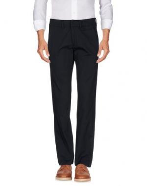 Повседневные брюки X CONCEPT. Цвет: темно-синий