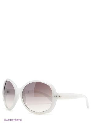 Солнцезащитные очки United Colors of Benetton. Цвет: светло-серый