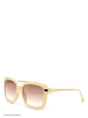 Очки солнцезащитные Selena. Цвет: бежевый