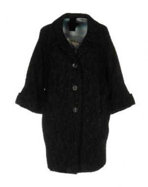 Пальто FEMME by MICHELE ROSSI. Цвет: стальной серый