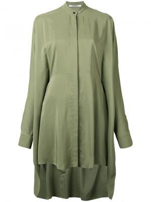Рубашка Handkerchief Tunic Chalayan. Цвет: зелёный