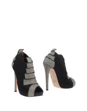 Полусапоги и высокие ботинки CHRISSIE MORRIS. Цвет: серый