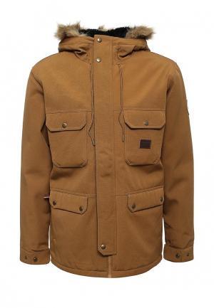 Куртка утепленная Billabong. Цвет: синий