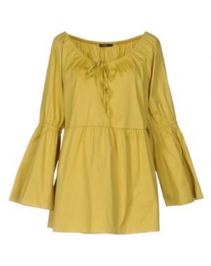 Блузка CARLA G.. Цвет: кислотно-зеленый