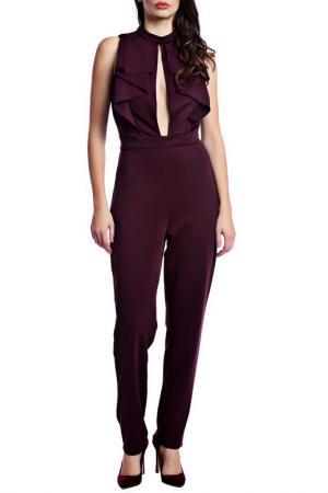 JUMPSUIT Moda di Chiara. Цвет: burgundy