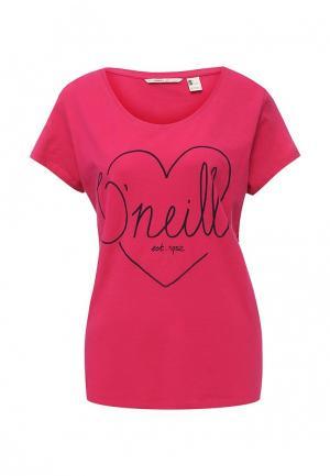 Футболка O`Neill. Цвет: розовый
