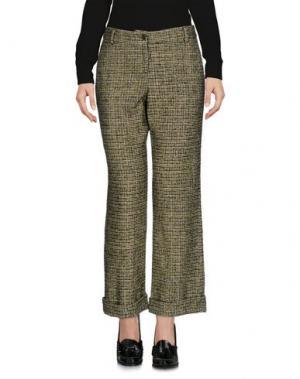 Повседневные брюки LAURA URBINATI. Цвет: зеленый