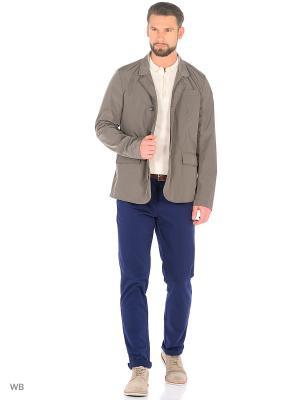 Куртка Trussardi. Цвет: серо-коричневый