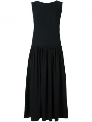 Платье Deven Christian Wijnants. Цвет: чёрный