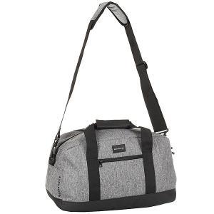 Сумка спортивная  Small Shelter Lugg Light Grey Heather Quiksilver. Цвет: серый,черный