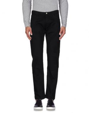 Джинсовые брюки OFFICINA 36. Цвет: черный