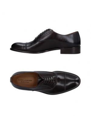 Обувь на шнурках DANIELA FARGION. Цвет: темно-коричневый
