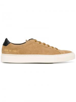 Кеды Original Achilles Low Common Projects. Цвет: телесный