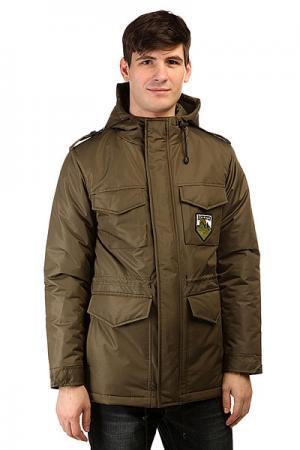 Куртка зимняя  M65 Haki Anteater. Цвет: зеленый