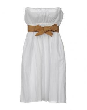 Короткое платье ..,MERCI. Цвет: белый