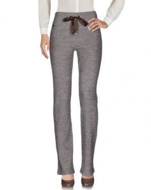 Повседневные брюки NAUGHTY DOG. Цвет: темно-коричневый