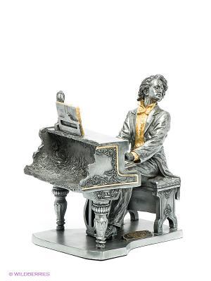 Статуэтка Шопен Veronese. Цвет: темно-серый, золотистый