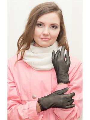 Перчатки Штучка Castlelady. Цвет: черный
