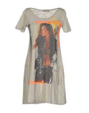 Короткое платье ATHLETIC VINTAGE. Цвет: бежевый