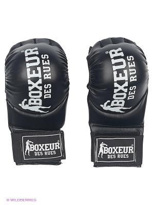 Перчатки для единоборств Boxeur Des Rues. Цвет: черный