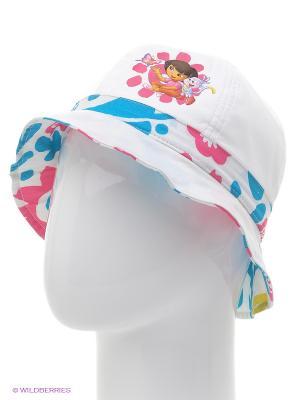 Панама Button Blue. Цвет: белый, голубой, розовый