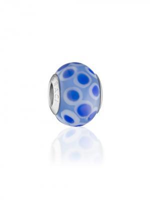 Шарм Violette Lazio Amore&Baci. Цвет: синий, белый, голубой