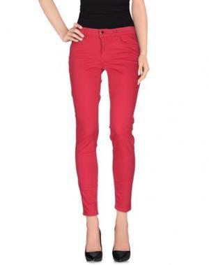 Повседневные брюки REBEL QUEEN. Цвет: пурпурный
