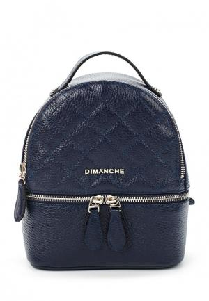 Рюкзак Dimanche. Цвет: синий
