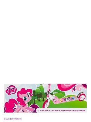 Самокат My Little Pony. Цвет: розовый