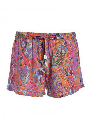 - Kashmar Orange Короткие шорты С принтом Cyell