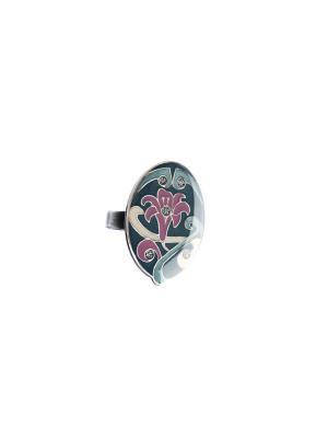Кольцо Clara Bijoux. Цвет: зеленый, бежевый, малиновый