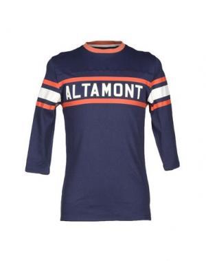 Футболка ALTAMONT. Цвет: синий