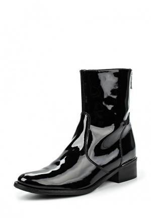 Полусапоги Wojas. Цвет: черный