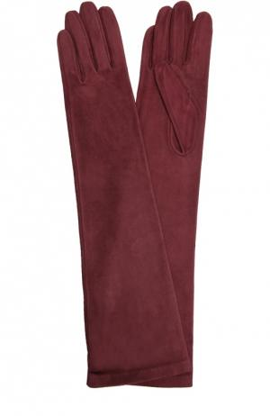 Перчатки Sermoneta Gloves. Цвет: бордовый