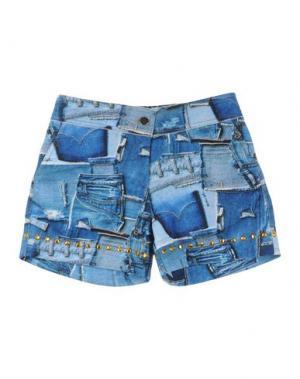 Повседневные шорты MIMISOL. Цвет: синий