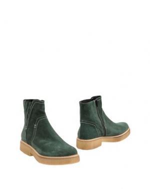 Полусапоги и высокие ботинки GEORGE J. LOVE. Цвет: зеленый
