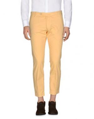 Повседневные брюки MICHAEL COAL. Цвет: абрикосовый