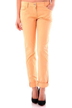 Trousers Cristina Gavioli. Цвет: light orange