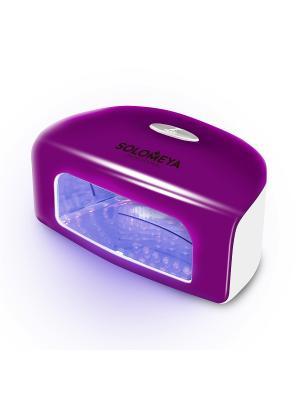 Профессиональная LED-лампа SUPER ARCH 9G (9Вт)/Professional LED Lamp (9W) (розовая) SOLOMEYA. Цвет: розовый