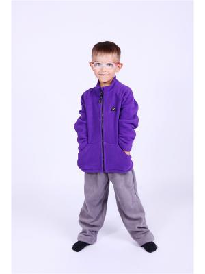 Кофта Радуга ЛисФлис. Цвет: фиолетовый