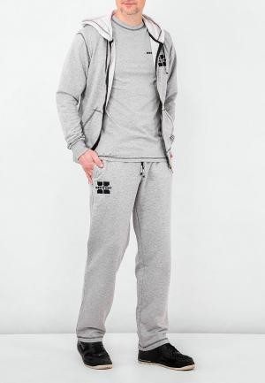 Костюм спортивный Ken & Nedy. Цвет: серый