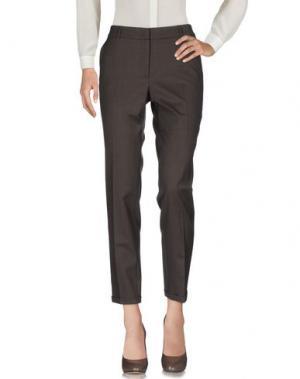 Повседневные брюки -A-. Цвет: темно-коричневый