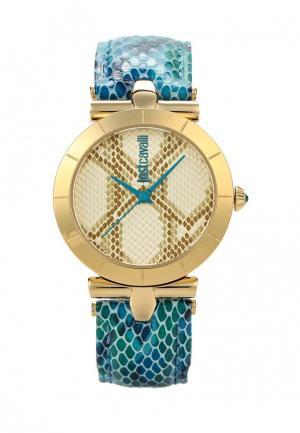 Часы Just Cavalli. Цвет: бирюзовый
