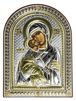 Икона Влад.Божья Матерь NAVELL. Цвет: коричневый, серебристый