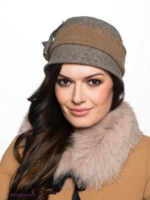 Шляпа Betmar. Цвет: серый, коричневый