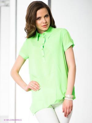 Блузка MONDIGO. Цвет: светло-зеленый